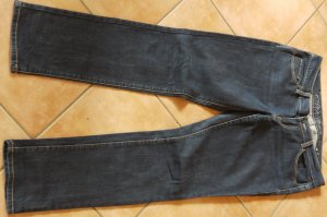 Esprit Jeansy typu biker ciemnoniebieski Bawełna