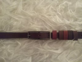 de.corp by Esprit Leather Belt multicolored