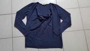 """Esprit Pullover mit Wasserfallkragen """" dunkelblau """" Gr. S """" neuwertig !!!"""