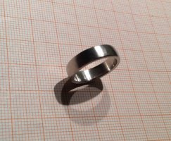 Esprit Ring 925 Silber matt