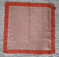 Edc Esprit Silk Scarf apricot-natural white silk