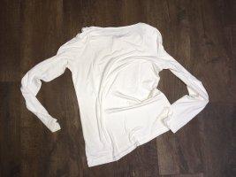 Esprit Camisa con cuello caído blanco puro-crema