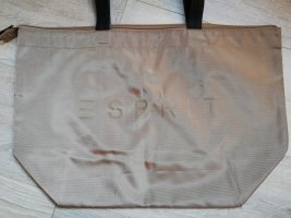 Esprit Shopper black-beige
