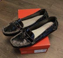 Esprit Slipper/Loafer schwarz Lack