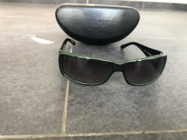 Esprit Sonnenbrille schwarz grüner Innen Rand