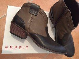 Esprit Western laarsjes donkerbruin-cognac