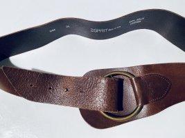Esprit Taillengürtel braunes Leder Gr.85