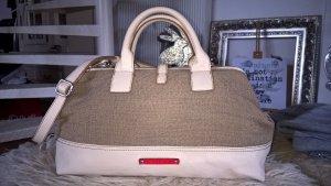 ESPRIT Tasche  NEU in zartem Puderton gemixt mit Braun