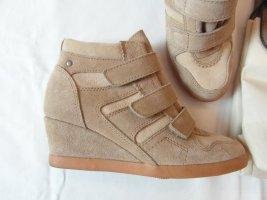 ESPRIT WEDGES STIEFELETTEN Gr. 37 Ankle Boots Booties beige