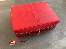Estée Lauder Carry Bag red