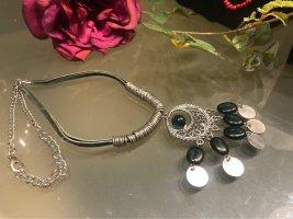 Bijou Brigitte Collier Necklace silver-colored-petrol