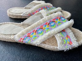By Malina Espadrille Sandals multicolored mixture fibre