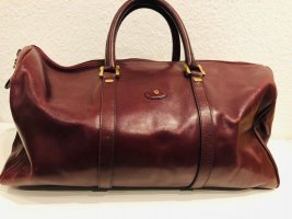 Étienne Aigner Weekender Bordeaux Rot Vintage Top Zustand