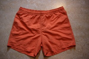 etirel, Badeshort, orange, Größe M