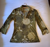 Etro Milano Blouse brillante multicolore coton