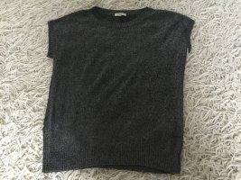 Etro Cárdigan de punto fino negro-gris claro Viscosa
