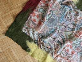 Etro Milano Bufanda de seda multicolor