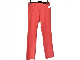 Eugen Klein Five-Pocket Trousers bright red cotton