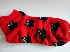 Manchetten rood-zwart