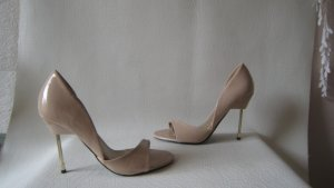 Even & Odd´ Super Sexy Lack Heels Nude Metall Stilettos 10,5 cm Top