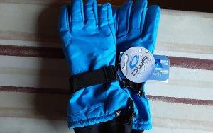 Everhill Gants thermiques noir-bleu acier