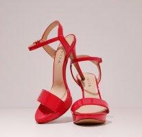 EVITA High Heels / Pumps / Sandalette / Sandalen / 100% Lackleder / Leder / Klassische Schuhe