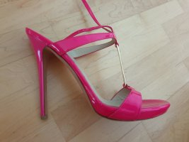 """Exclusive Designer High Heels Sandalen """"Alexander McQueen"""" Gr. 39 1/2"""