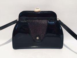 Aigner Handbag black-cream leather
