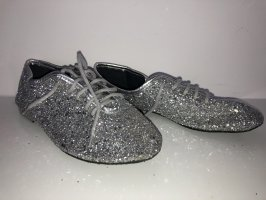 Bailarinas plegables color plata