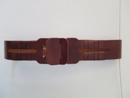 Black Lily Leather Belt brown
