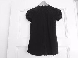 extravagante Bluse schwarz BOSS Gr. 36 - neuwertig