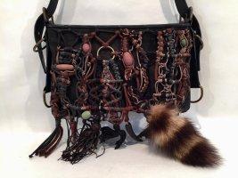 Extravagante Givenchy Handtasche mit Perlen und Pelz