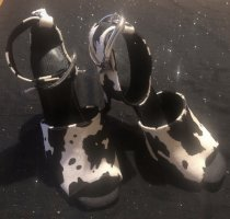ASOS DESIGN High Heels black-white