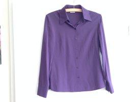 EXTRAVAGANTE lila Bluse von Yessica, Größe 34, Nichtraucherhaushalt