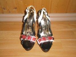 Plateauzool sandalen veelkleurig