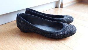 Stuart weitzman Lakleren ballerina's zwart