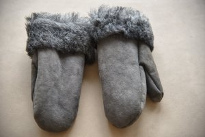 Shepherd Padded Gloves dark grey