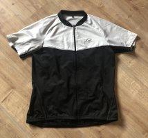 Fahrrad-Kurzarmtrikot in schwarz-weiß von Protective