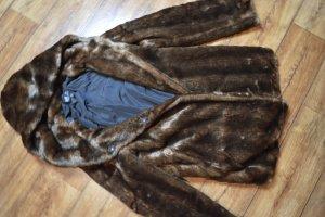 Zara Trafaluc Kurtka zimowa brązowy-ciemnobrązowy