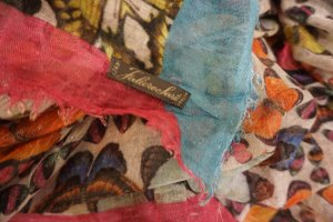 Faliero sarti Fringed Scarf multicolored