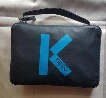 Kenzo Sac de sport bleu acier polyester