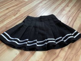 H&M Divided High Waist Skirt black-white