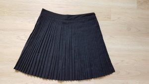 H&M Plooirok zwart Polyester