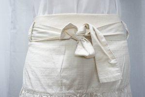 Vero Moda Warstwowa spódnica kremowy Bawełna