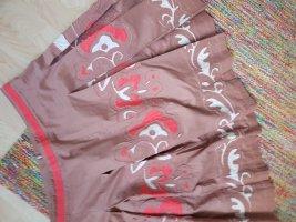 Cacharel Jupe à plis multicolore