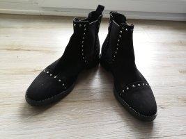 Fantasy Slip-on laarzen zwart