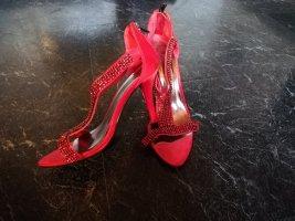 Farasion Dianette sandalen rood