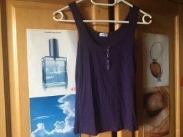 Intimissimi Ribbed Shirt dark violet-purple
