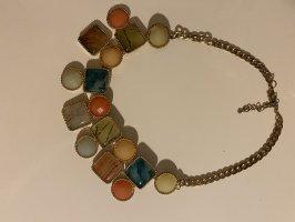 Farben Halskette