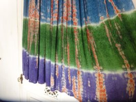 Maxi Skirt multicolored rayon